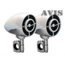 AVIS AVS445MP Аудиосистема для мотоцикла (хром)