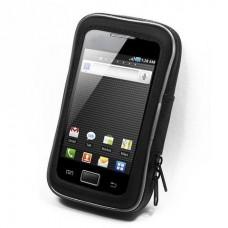 Универсальный чехол для смартфонов до 5,4 дюйма для установки на трубчатый руль мотоцикла
