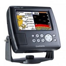Garmin GPSMAP 585 Картплоттер и эхолот в комплекте с картами России и датчиком (NR010-00913-02R6Т)