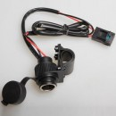 Saito Socket 12V Розетка-прикуриватель с кабелем 1,8 метра
