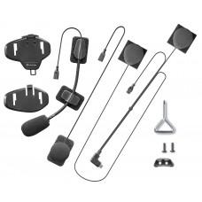 Intephone MICINTERPHOFLAT Крепление с наушниками и  микрофонами  для мотогарнитур AVANT/TOUR/SPORT/LINK