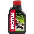 MOTUL Scooter Expert 2T Минеральное моторное масло для двухтактных скутеров и мопедов
