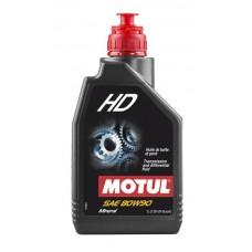 MOTUL HD 80W90 Минеральное трансмиссионное масло для коробок скоростей и мостов (1 л.)