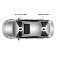 Neoline DWN-25 Система парковки с видеорегистратором
