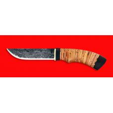 """Нож  """"Рысь"""", клинок сталь 9ХС, рукоять береста"""