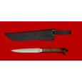 """Нож """"Егерь"""" цельнометаллический, клинок сталь 95Х18, рукоять дуб"""