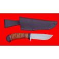 """Нож охотничий """"Филин"""", клинок сталь 95Х18, рукоять береста"""