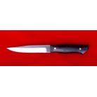 """Нож """"Лесник"""", цельнометаллический, клинок кованый сталь 95Х18, рукоять венге"""