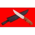 """Нож охотничий """"Марал"""", клинок сталь 95Х18, рукоять карельская берёза"""