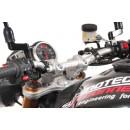 SW-Motech Bar back for Ø 28 mm. Проставки на трубчатый руль мотоцикла.(H=30 mm. Back 22 mm.) цвет: серебристый