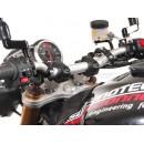 SW-Motech Bar back for Ø 28 mm Black. Проставки на трубчатый руль мотоцикла.(H=30 mm. Back 22 mm.) цвет: черный