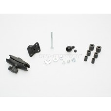 SW-Motech Ball Clamp Kit 12.5 - 25.0. M8 thread. ø 1 inch.For triple clamp/incl.RAM-Arm. арт.CPA.00.424.17000/B
