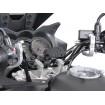 SW-MOTECH Nonshock Bar Clamp GPS Mount - Крепление на трубчатый руль виброщащищенное
