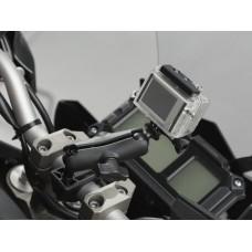 SW-MOTECH Universal Kit RAM Arm with GoPro Camera Adapter - Универсальный крепеж для экшн камер арт.CPA.00.424.12500/B