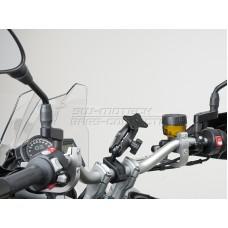SW-MOTECH Universal GPS Mount Kit RAM Универсальное крепление для навигаторов и смартфонов на трубчатый руль мотоцикла Ø 22 / 28 mm, 1 Inch. арт.:GPS.00.308.30300/B