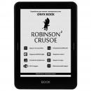 ONYX BOOX ROBINSON CRUSOE 2 (чёрная, металл, защитное стекло, Carta Plus, Android, MOON Light, Wi-Fi, 8 Гб, водозащищенная)
