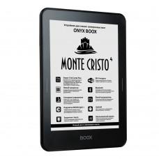 ONYX BOOX MONTE CRISTO 4 Электронная книга (чёрная, металл, защитное стекло, Carta Plus, Android, MOON Light+, Wi-Fi, Bluetooth, 8 Гб)
