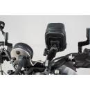SW-Motech Universal GPS Mount Kit Navi Case Pro S - Универсальный чехол для смартфонов с креплением на руль и болт зеркала